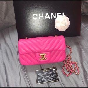 New Rare Chanel Extra Mini Rectangular Bag
